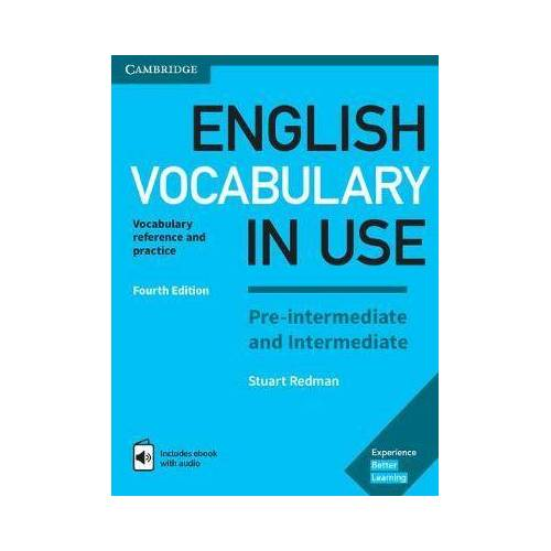 English Vocabulary in Use Pre-intermediate and by Stuart Redman