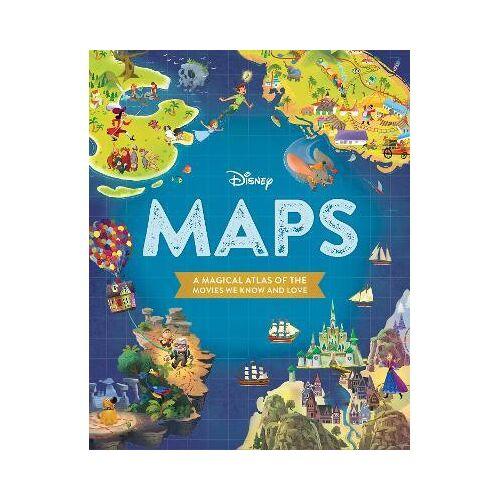 Disney Maps by Disney Book Group
