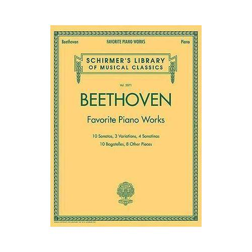 Favourite Piano Works by Ludwig van Beethoven