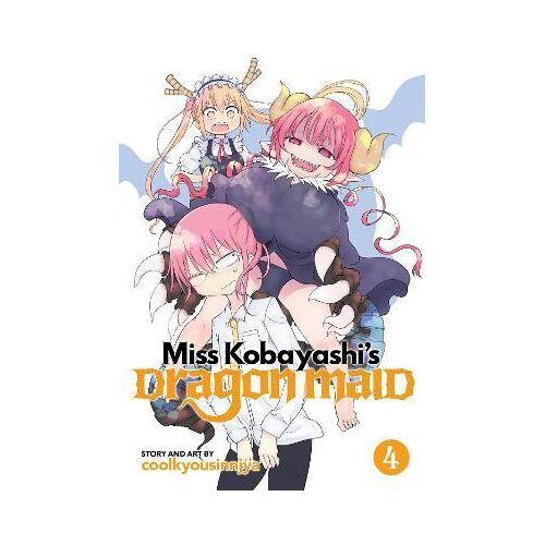 Miss Kobayashi's Dragon Maid: Vol. 4 by Coolkyoushinja
