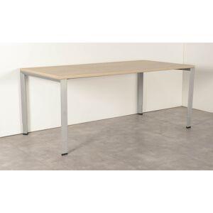 Ahrend 700 bureau, bladkleur naar keuze, 180 x 90 cm, hoogte instelbaar onderstel