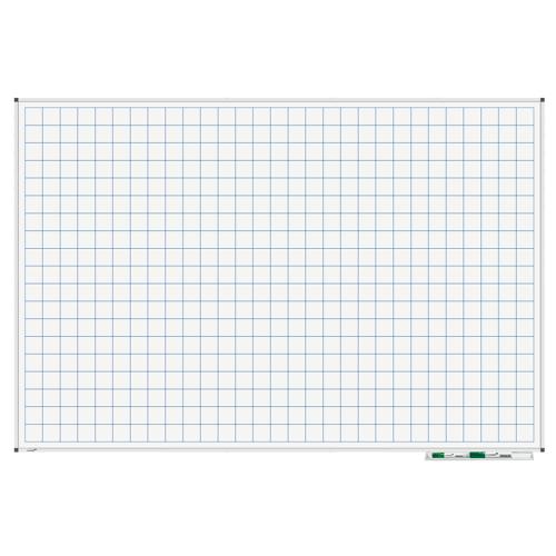 Legamaster Whiteboard - Raster 100x150 cm