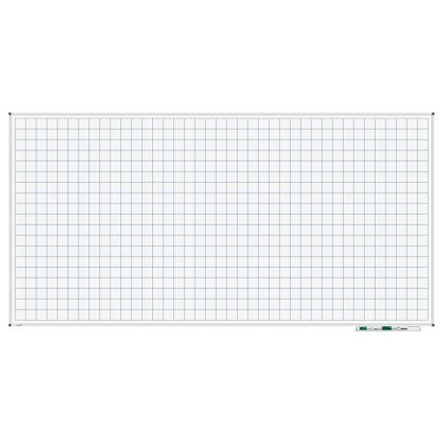 Legamaster Whiteboard - Raster 100x200 cm
