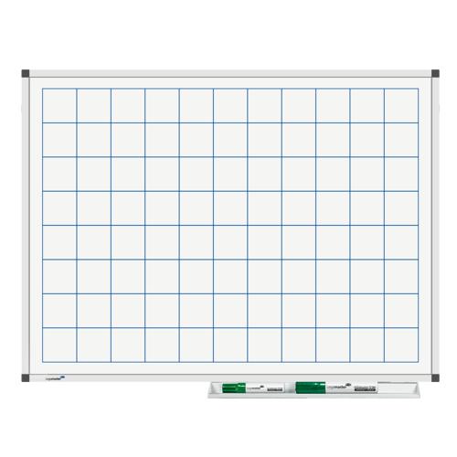 Legamaster Whiteboard - Raster 45x60 cm