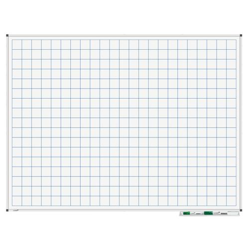 Legamaster Whiteboard - Raster 90x120 cm