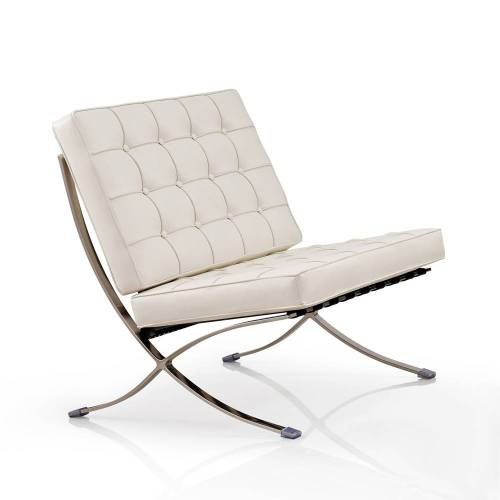 IVOL Barcelona Chair (replica) - Wit