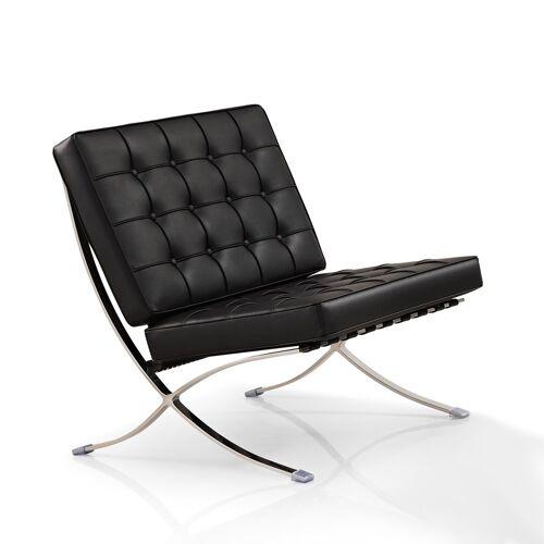 IVOL Barcelona Chair (replica) - Zwart