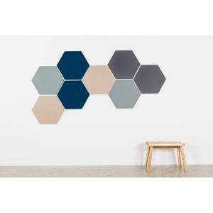 Design prikbord zeshoek - kleurcode 2214