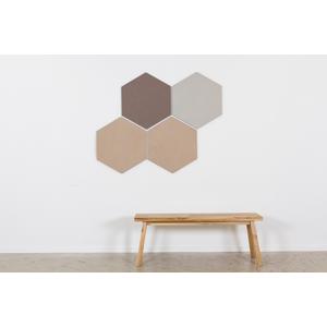 Design prikbord zeshoek - kleurcode 2166