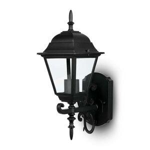 V-TAC Traditionele Buitenlamp LED Wand E27 IP 44 Mat Zwart
