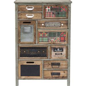 Kare Design Ladekast California 11 Laden - L65 X B30 X H98 Cm - Hout