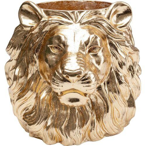 Kare Bloempot Lion Gold