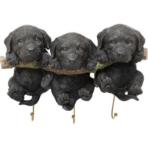 Kare Wandhaken Three Mini Dogs