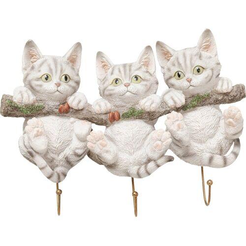 Kare Wandhaken Three Mini Cats