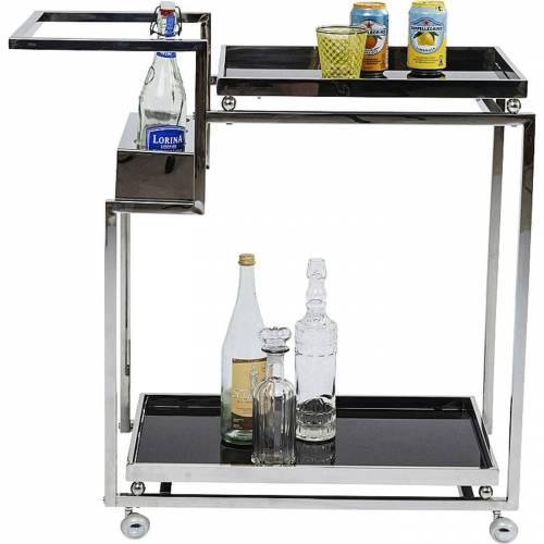Kare Trolley Barfly Silver