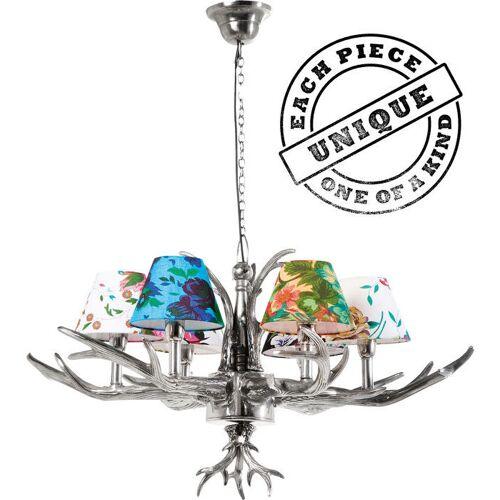 Kare Hanglamp Antler Bloemen 6
