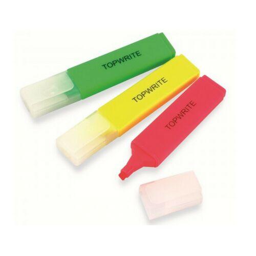 Topwrite Markeerstift set 3 kleuren