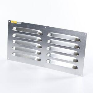 Gavo Schoepenrooster aluminium 50 x 25cm