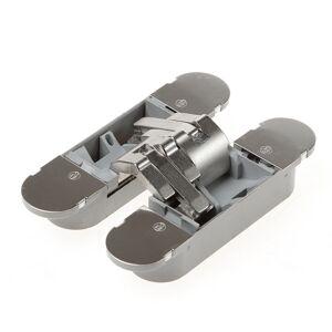 Bsw Onzichtbaar scharnier, 3D, type Hide 130-60, afmeting 130x30mm, glans nikkel
