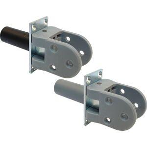 Dictator Hawgood 4140/deurdikte 40mm/met vaststelling/RVS (schoen kunststof grijs)