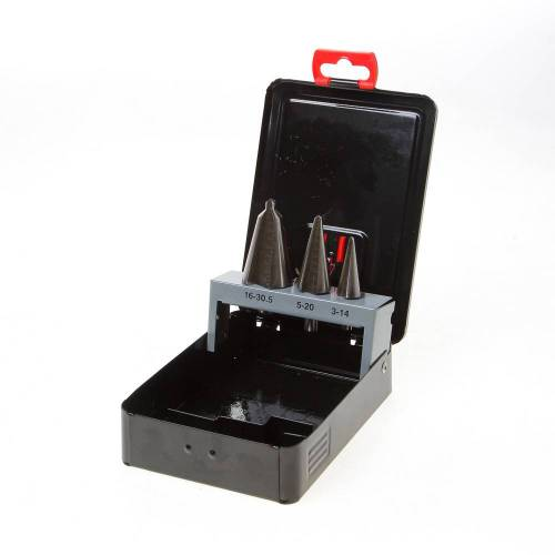 Kelfort Plaatborenset HSS 3-delig 3-30.5mm