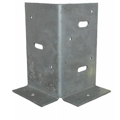Bouwsales Gb Paalhouder type A 90 x 90 x 2.5mm TV 73591