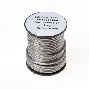 Bouwsales Draadsoldeer massief sn50/pb50 3mm