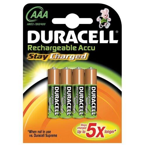 Bouwsales Duracell Batterij GP NiHM oplaadbaar aaa blister van 4 batterijen