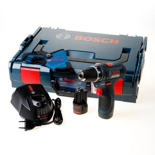 Bosch Accu schroevendraaier GSR12V-15 2x2.0ah
