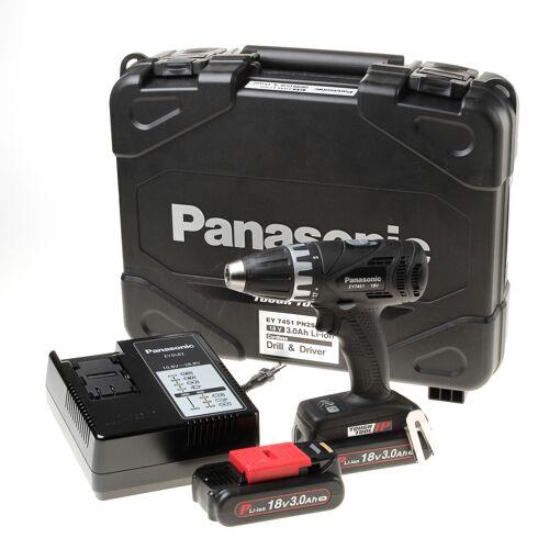 Panasonic EY7451PN2G 18V accuboormachine 2x 18V 3,0 Ah, lader en in koffer geleverd