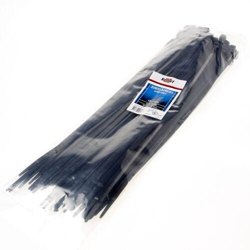 Bundelbandje zwart 450 x 8.0mm