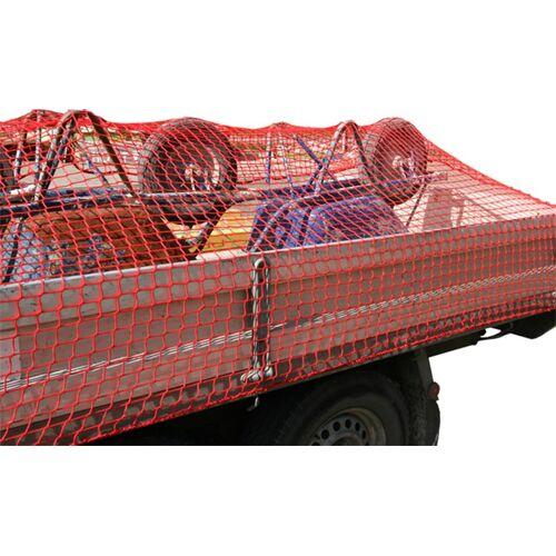Aanhangwagennet, rood, 250x400cm
