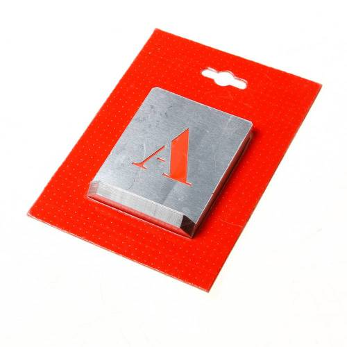 Sjabloon letters A t/m Z - 40mm