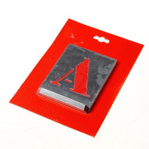 Sjabloon letters A t/m Z - 80mm