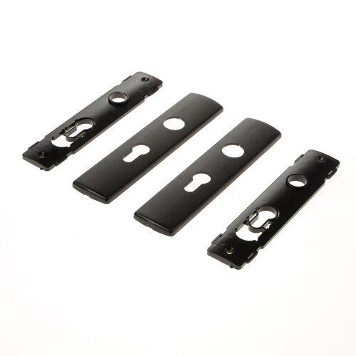 AXA Binnendeurbeslag klik zwart  pc55  6210-20-18/55E