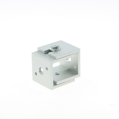 Hermeta Afstandhouder, alu/naturel mat 3580-11g 44-56mm
