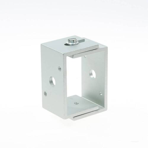 Hermeta Afstandhouder, alu/naturel mat 3581-11g 55-76mm