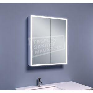 Schulz Viertel Spiegelkast met Verlichting (60x70x13 cm)
