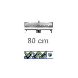 Bibury 3e Generatie 80 cm RVS met flens en rooster