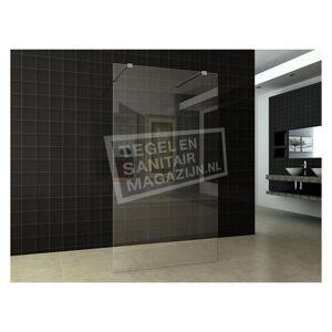 Sanibest Inloopdouche Vrijstaand 140 cm Glas 8 mm NANO
