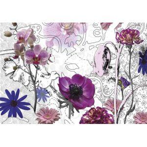 Komar Purple Fotobehang 368x254cm