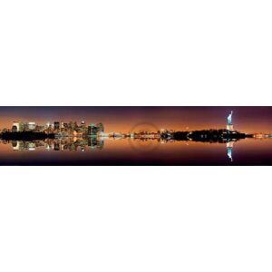PGM Shutterstock - Manhatten New York City Kunstdruk 151x33cm