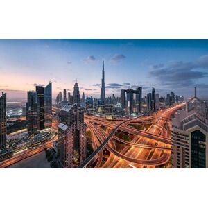 Komar Lights of Dubai Vlies Fotobehang 450x280cm 9-banen