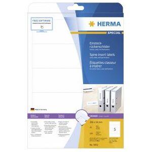 HERMA 5032 niet-klevende labels