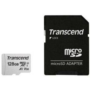 Transcend microSDXC 300S 128GB + SD-adapter