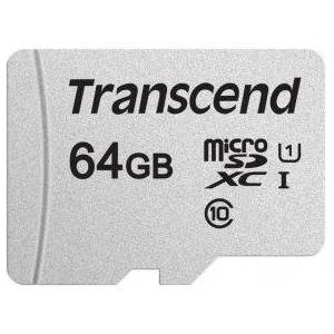 Transcend microSDXC 300S 64GB + SD-adapter