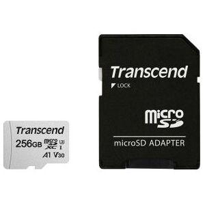 Transcend microSDXC 300S 256GB + SD-adapter