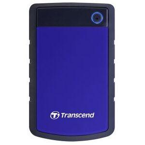 Transcend StoreJet 25H3 Rugged 2TB Blauw