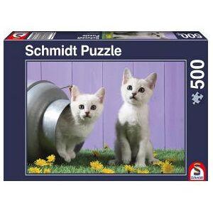 Schmidt Spiele Cat sisters. 500 pcs