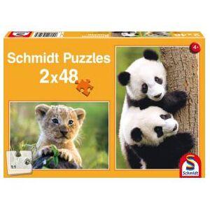 Schmidt Spiele Cute Animal Babies. 2x48 pcs